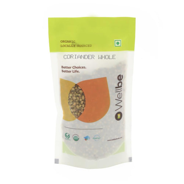 WELLBE CORIANDER WHOLE 50 GM