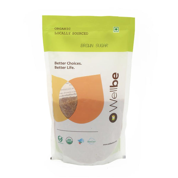 WELLBE BROWN SUGAR 500GM