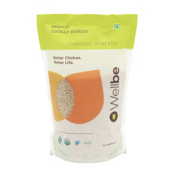 WELLBE SONAMASURI BROWN RICE 1KG