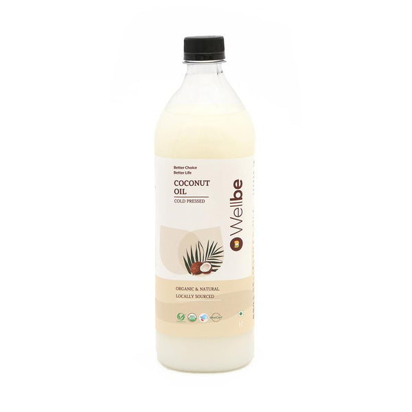 WELLBE COCONUT OIL COLD PRESSED 500ML