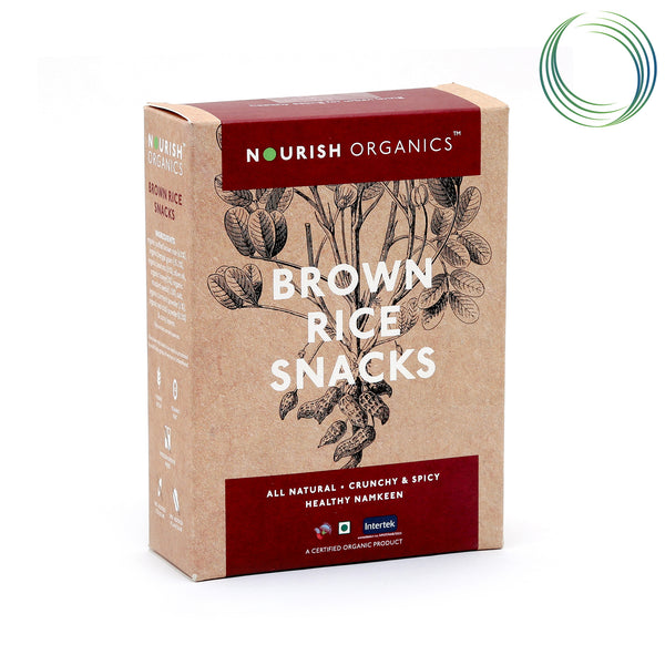 NRS BROWN RICE SNACKS 200G
