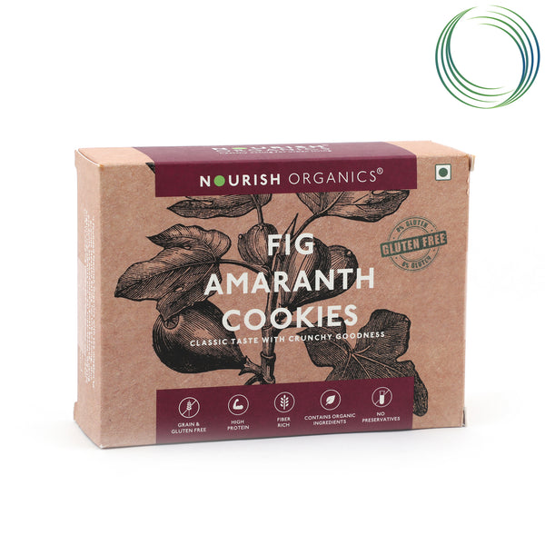 NRS FIG AMARANTH COOKIES 150G