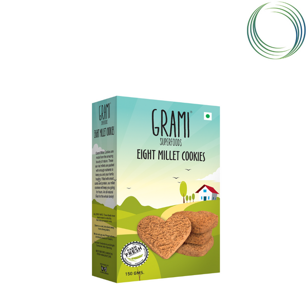 EIGHT MILLET COOKIES