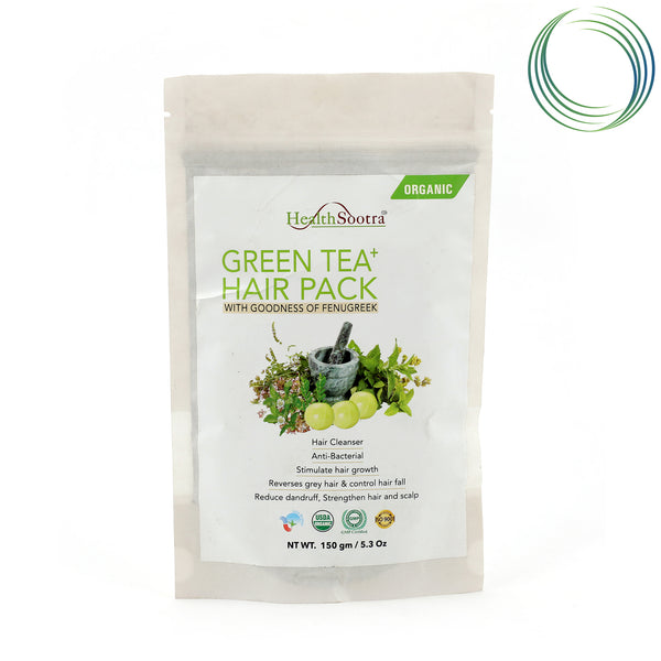 HS GREEN TEA HAIR PACK 150GM