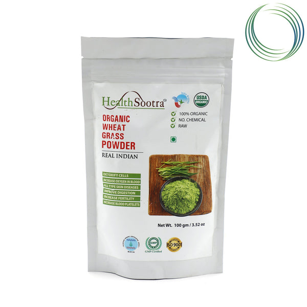 HS WHEAT GRASS POWDER 100GM