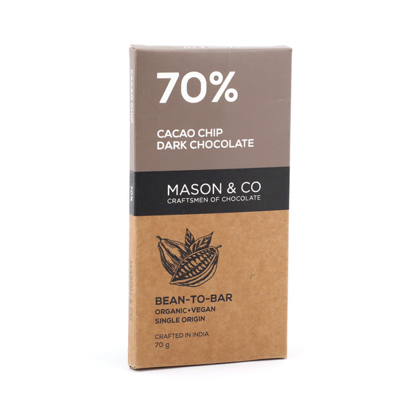 MS 70% CACAO CHIP DARK CHOCOLATE 70G