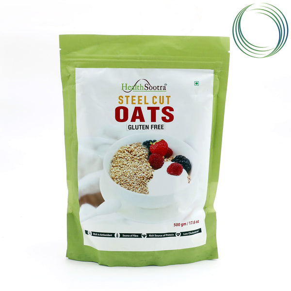 HS STEEL CUT OATS 500GM