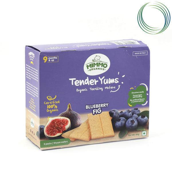 MMO BLUEBERRY & FIG WAFERS 85G