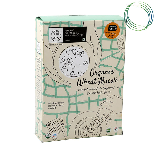 WHEAT MUESLI OMEGA NUTS