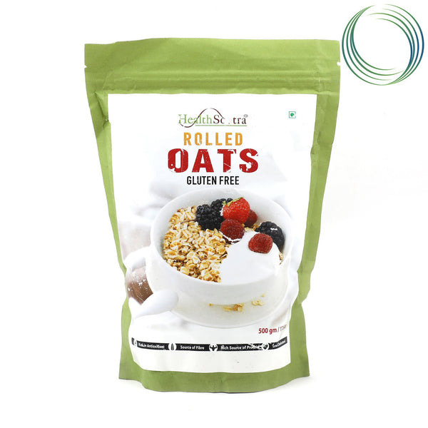 HS ROLLED OATS 500GM