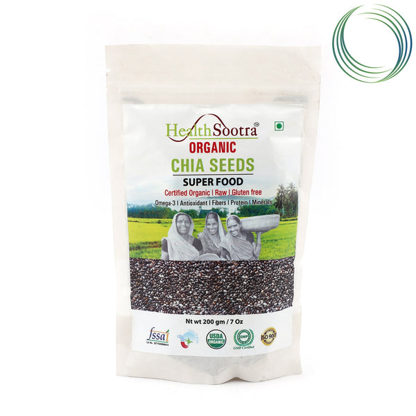 HS CHIA SEEDS 200GM
