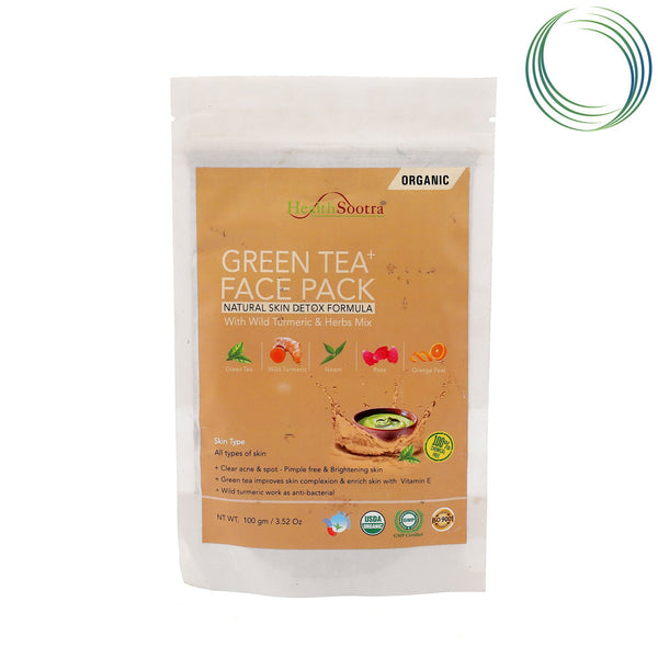 HS GREEN TEA FACE PACK 100GM