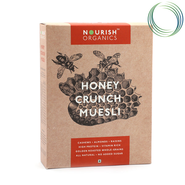 NRS HONEY CRUNCH MUESLI 350G