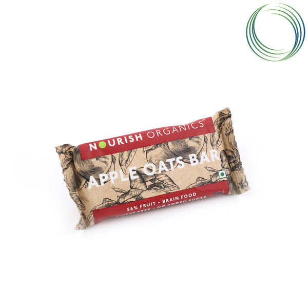 NRS APPLE OATS BAR 30G