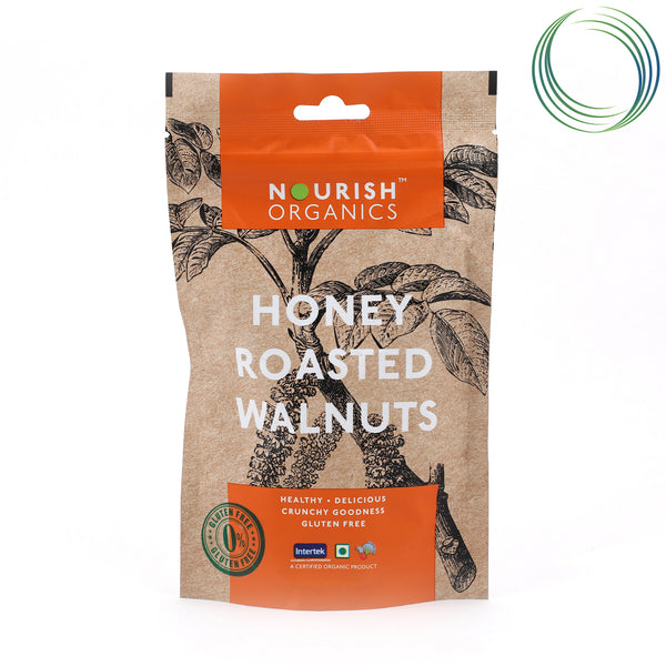 NRS HONEY ROASTED WALNUTS 120G