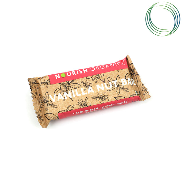 NRS VANILLA NUT BAR 130G