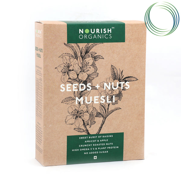 NRS SEEDS & NUTS MUESLI 350G