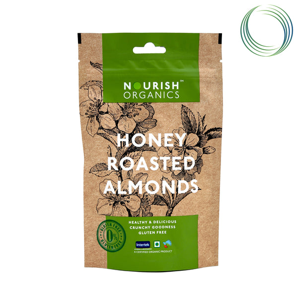 NRS HONEY ROASTED ALMONDS 120G