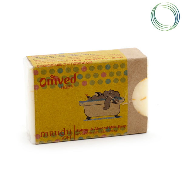 OMVED MRUDU BATHBAR 125GM