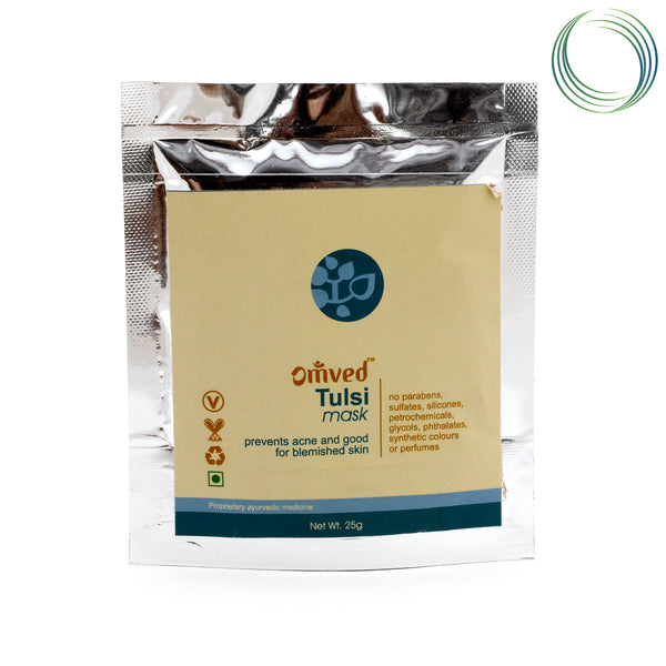 OMVED SKIN MASK TULSI HERBAL FACE PACK 25GM