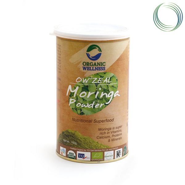 OW ZEAL MORINGA POWDER 100G