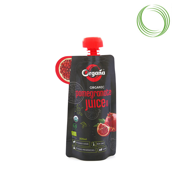 ORGANA ORGANIC POMEGRANATE JUICE 200 ML