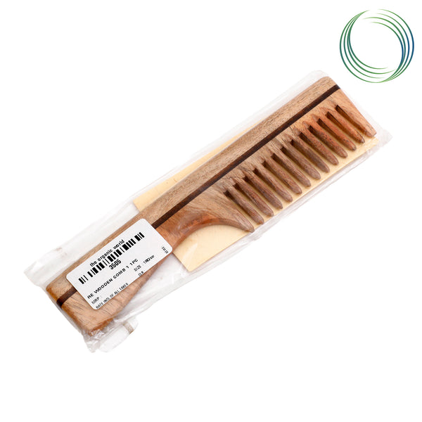 RE WOODEN COMB 1 1PC