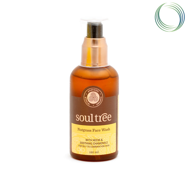 ST NUTGRASS FACE WASH 120ML