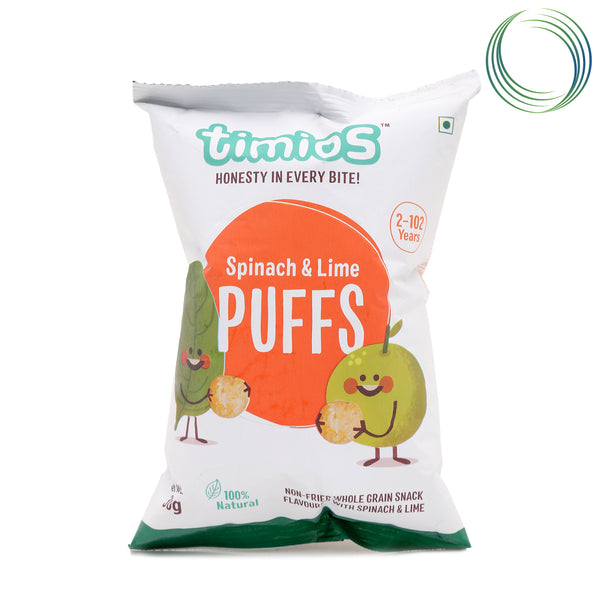 TM SPINACH LIME PUFFS  30GM