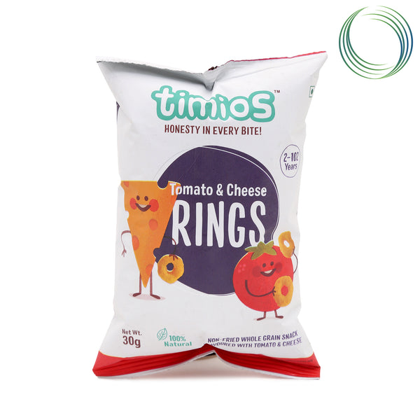TM TOMATO CHEESE RINGS  30GM