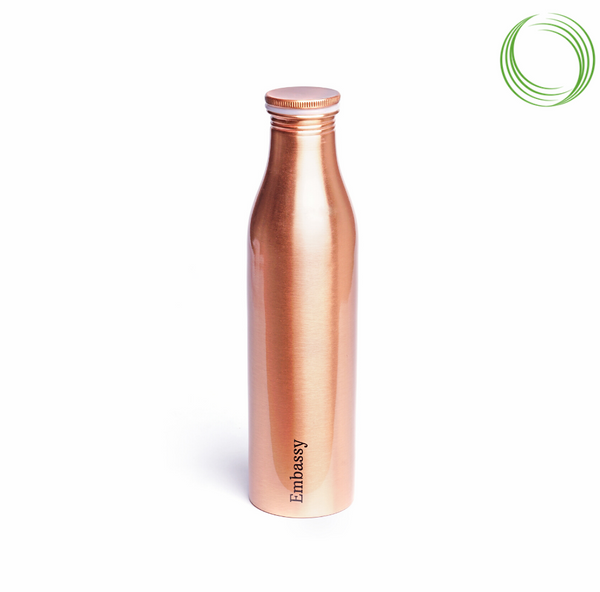 EMBASSY PREMIUM COPPER BOTTLE- AYUR -  1000ML