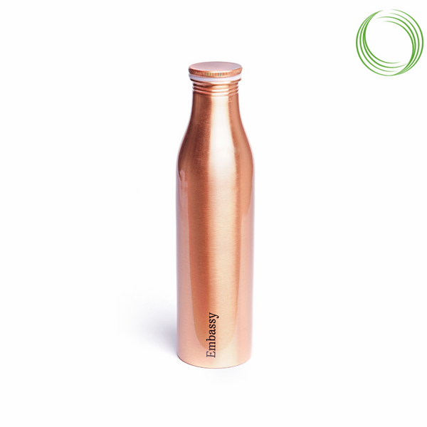 EMBASSY PREMIUM COPPER BOTTLE - AYUR - 1000 ML