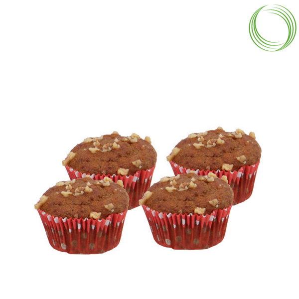 NUTRIBEE - WHOLE WHEAT MUFFIN WITH WALNUTS, 200 GM