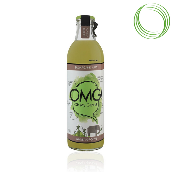 OMG SUGARCANE JUICE GINGER 250ML