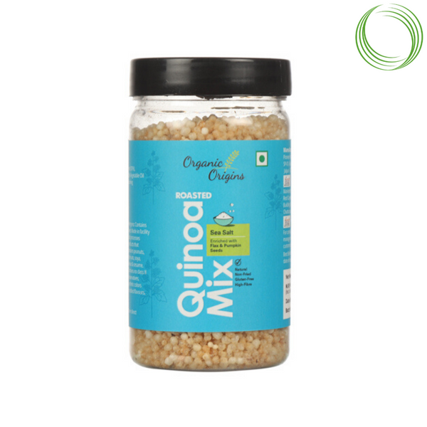 ROASTED QUINOA SEA SALT