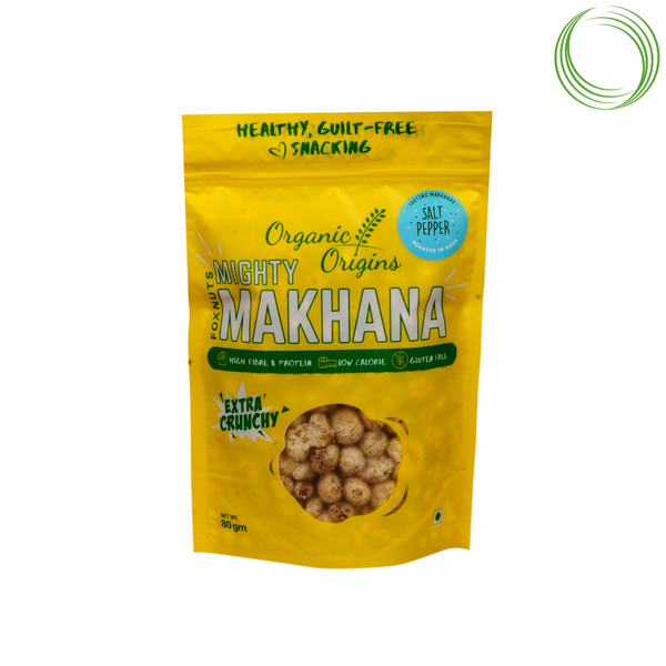 MAKHANA SALT AND PEPPER POUCH