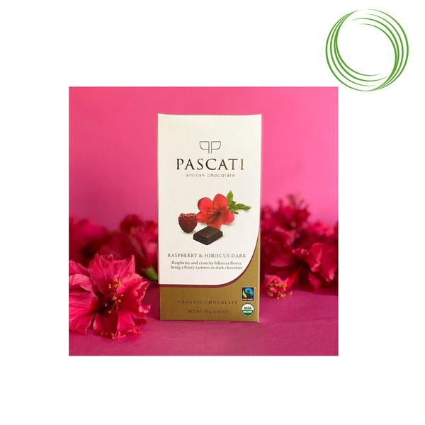 PASCATI - INDULGENCE BAR RASPBERRY HIBISCUS DARK 60%, 75 GM