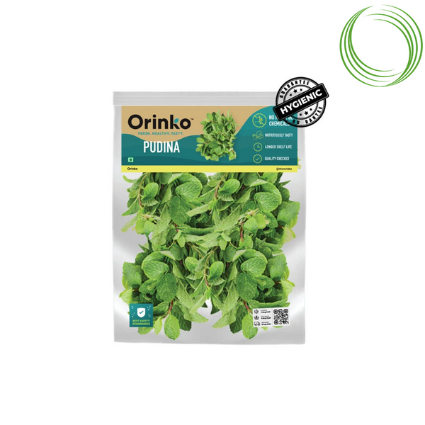 MINT (PUDINA) - ZERO HARMFUL CHEMICALS 100GM