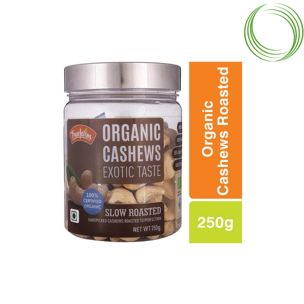 TRUEFARM ORGANIC CASHEWS ROASTED