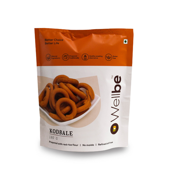 WELLBE KODBALE 180GM - Buy any 2 Wellbe Snacks & get 1 Snack Free