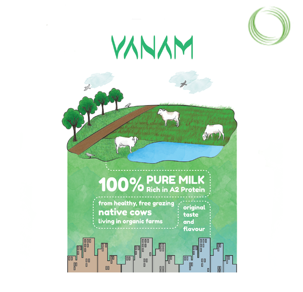 VAJRA FARMS - MILK, 500 ML