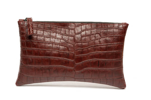 "Small Clutch ""Alligator Belly"""