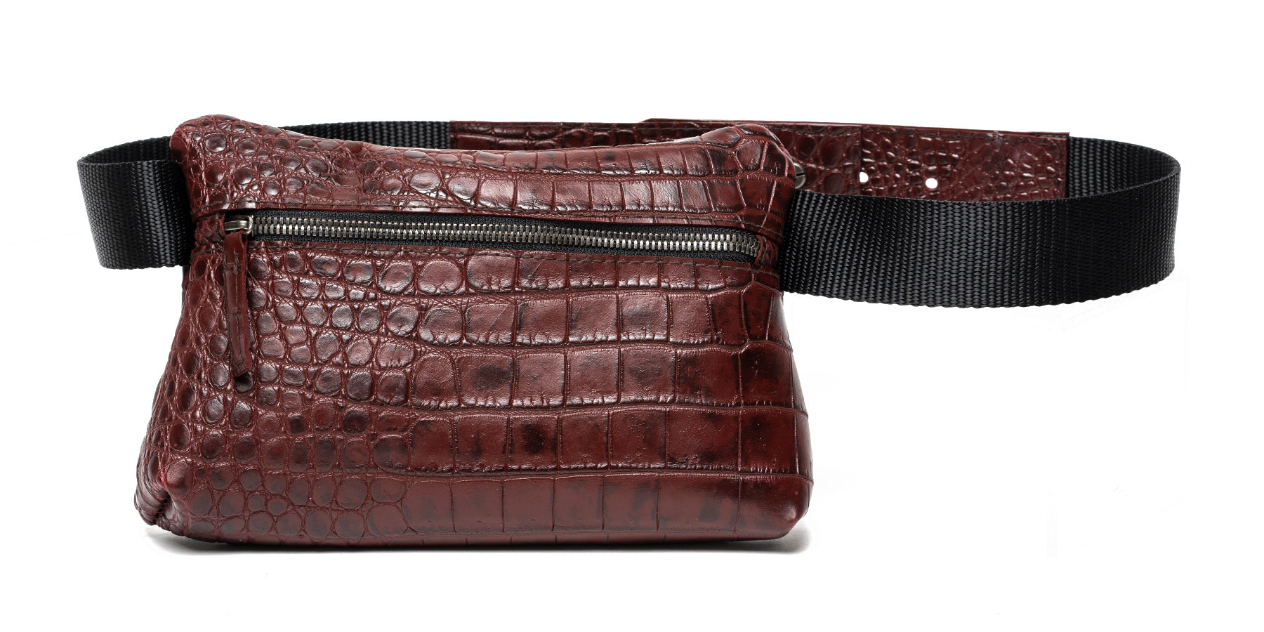 "Waist Pack ""Alligator Belly"""