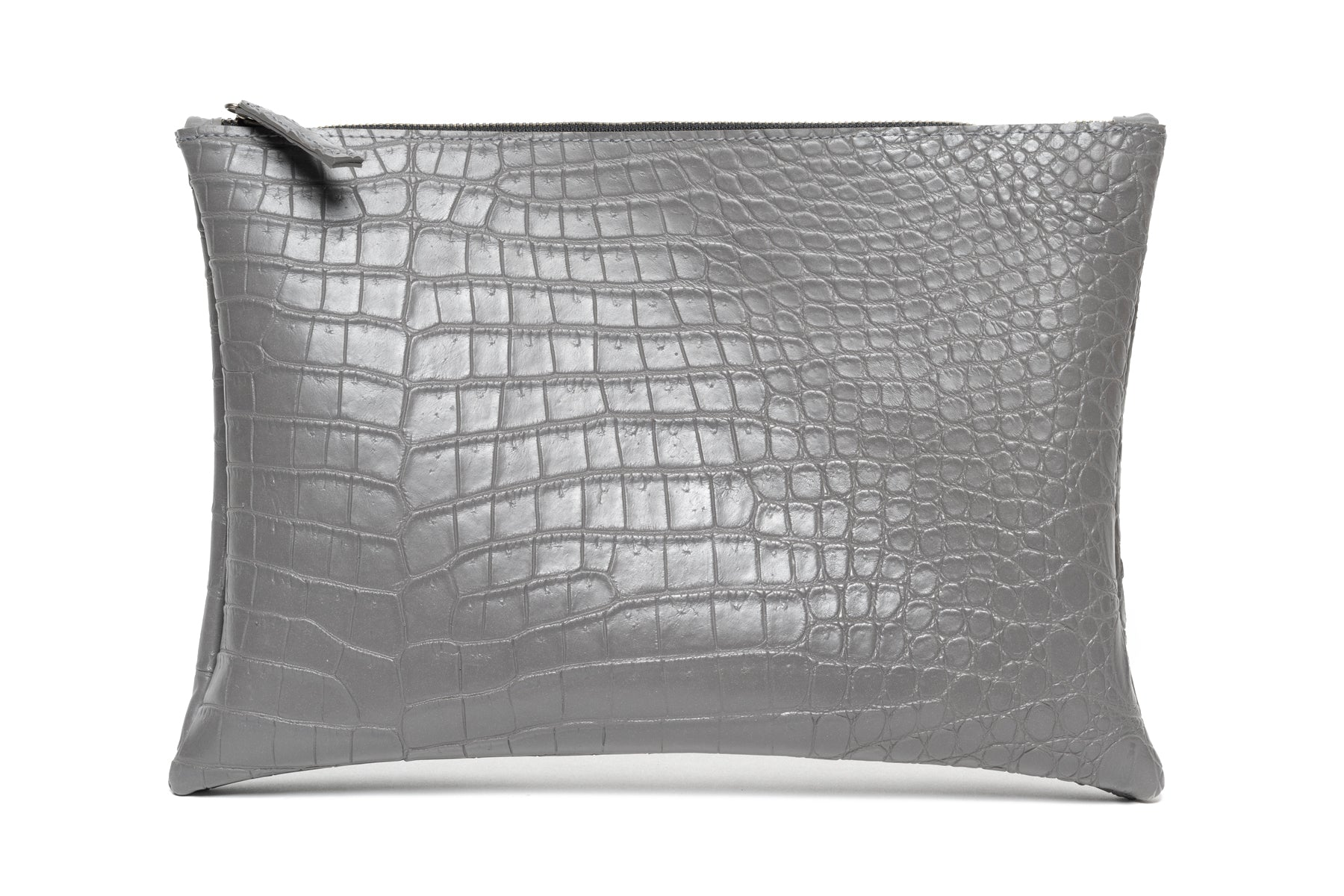"Large Clutch ""Alligator Belly"""