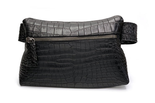 Waist Pack Alligator Belly