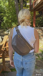 Load and play video in Gallery viewer, Large Crossbody Pouch