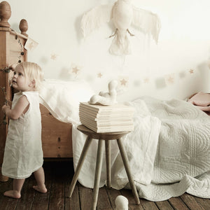 Beautiful linen bedding for babies girls and boys
