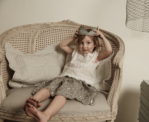 Bonne Mere Behind the brand embroidered cotton tops for girls
