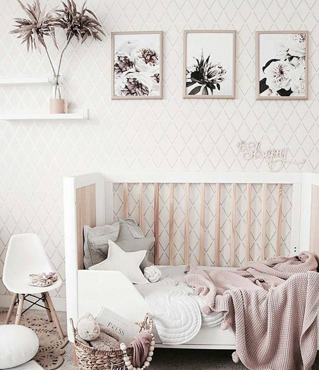 On trend nursery space and decor