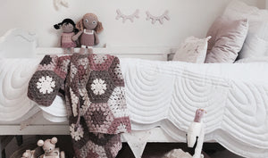 white quilt bedding for babies and children